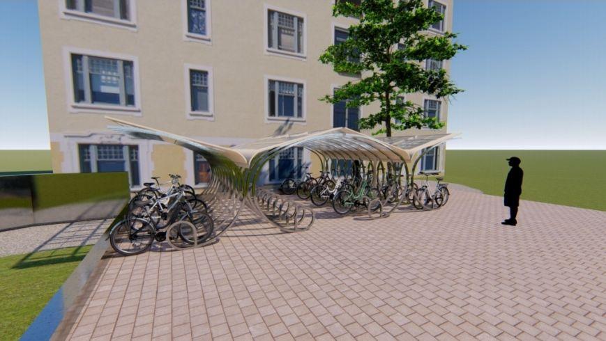 Un parking à vélos pour le lycée Khairrdine à Ariana