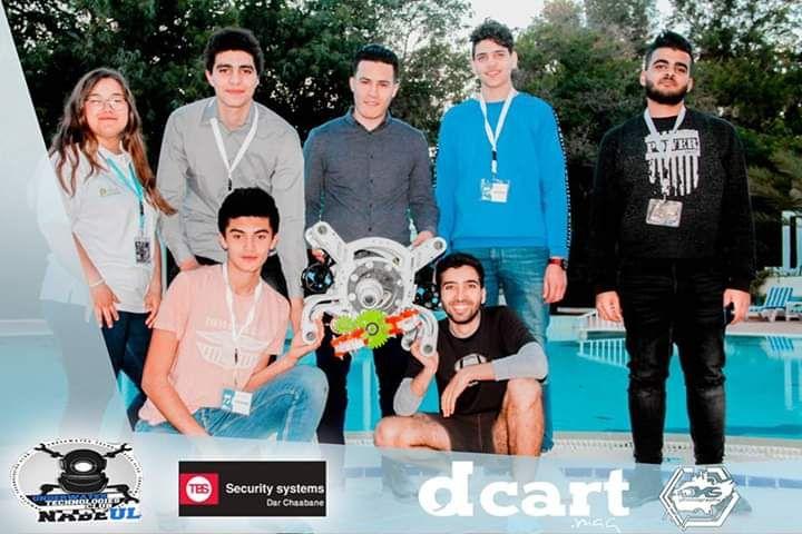 Un robot  sous Marin tunisien  Dans une competitions organisee par NASA et MICROSOFT